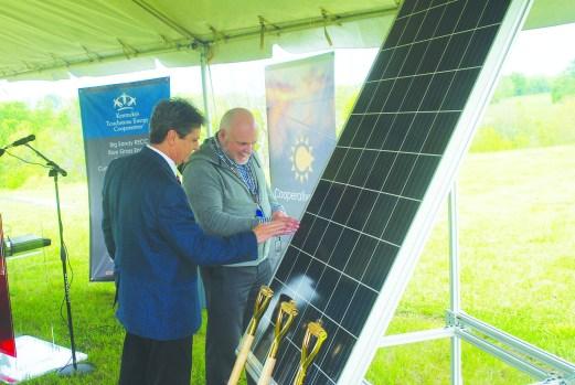 Feel The Electricity Ekpc Breaks Ground On Solar Farm